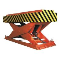 5000Kg Loading Hydraulic Cargo Lift Table With Gas Shield Welding Manufactures