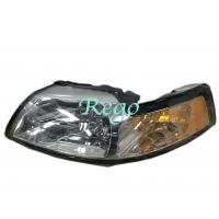 99 - 04 ford Mustang Car Lighting System , Chrome Bezel Passenger Side Mirror Manufactures
