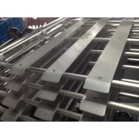 Quality Customized Punching Bending Aluminum Tube for Automatic Aluminum Stretcher for sale