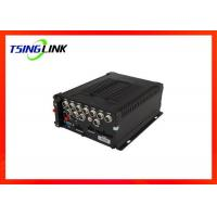 Wireless 8 Channel Mobile NVR , 4G DVR Video Recorder For Car Bus Manufactures