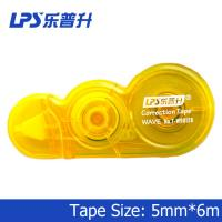 LPS PET Innovative Yellow Mini Correction Tape Office Stationery Highlighter T-W90126 Manufactures