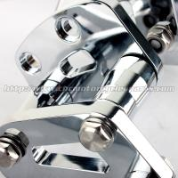 Quality High Strength Motorcycle Rear Sets / Adjustable Rear Sets Motorcycle Electroplating Forward Controls for sale