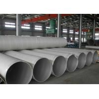 China TP304L 300 Series ERW Welded Stainless Steel Pipe , 3 Inch Steel Tubing For Vehicle on sale