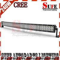 New Curved 41'' 240W CREE Led Light Bar 4x4 Truck Off road arch bent Spot Flood beam Light Manufactures