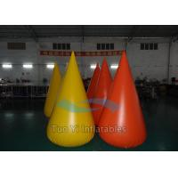 Drop-Shaped Triathlon Inflatable Buoy  with High Pressure Valve Manufactures