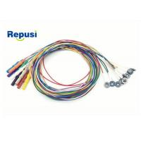 Quality Disposable EEG cup Electrode REPD-1.5PC Plated AgCl with 10 colors for sale