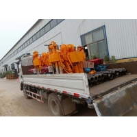 ST-200 Hydraulic Core Drilling Rig , Water Well Borehole Drilling Rig ISO Certificate Manufactures
