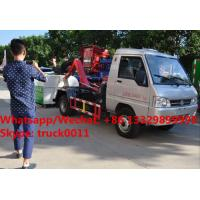 Factory sale Bottom price KAMA mini 3m3 hook lift trash truck,FOT SALE! KAMA gasoline mini wastes collecting vehicle Manufactures