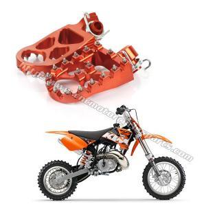 High Strength Dirt Bike Foot Pegs KTM 125 – 450cc Adventure Adjustable Footpegs Manufactures