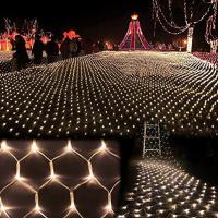 3m*2m 200 LED Net Mesh Fairy String Light Christmas Wedding Party Fairy String Light Manufactures