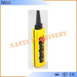 Quality IP65 Push Button Crane / Hoist Pendant Control AC400V / DC230V IEC 60947-5-1 for sale