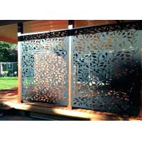 Corrosion Resistance Stainless Steel Decorative Panels With Brushed Surface Treatments Manufactures