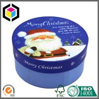 Round Style Glossy Fancy Custom Color Printed Paper Cardboard Gift Box Manufactures