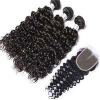 Long Lasting Virgin Human Hair Weave / Natural Human Hair Weave With Bouncy Manufactures