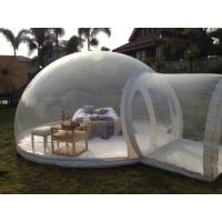 0.6 / 0.8mm Transparent PVC Inflatable Party Tent For Tourism / Advertising Manufactures