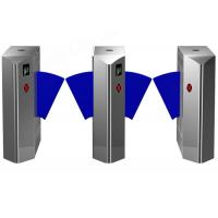 Full Auto Access Control Flap Barrier Gate Turnstile Entry System Manufactures