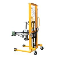 Electronic Balance 1.6m Lifting Height Gripper Type Hydraulic Drum Lift(Manual Rotating) with 400Kg Load Manufactures
