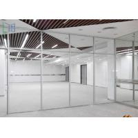 Commercial Division Aluminium Office Partition With Single / Double Glazing Glass Manufactures