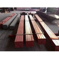 50*30 Smooth Surface Leaf Steel Crane Rail / Crane Square Billet Flat Bar Manufactures