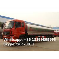 Quality hot sale 25,000L fresh milk tank truck,Dongfeng tianlong 8*4 25m3 stainless for sale