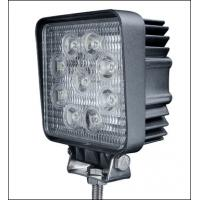 27W 5 Inch Square Cree Led Work Light Head Lamp for Off road Vehicles Manufactures
