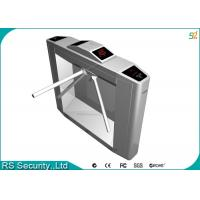 Security Access Waist Height Turnstiles IR Sensor Attendance Barrier Manufactures
