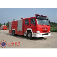 Quality 20 Ton Loading Water Tanker Fire Truck Flat Top Four - Door Lengthen Cab for sale