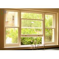 Modern Design Aluminium Vertical Sliding Windows With Double Tempered Glass Manufactures