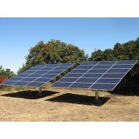 Silver Anodized Solar Roof Mounting Systems For Home Use Manufactures