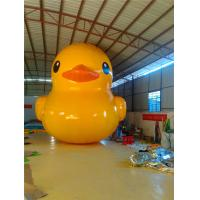 Cute Custom Inflatable Products 16m Water Floating Yellow Duck Manufactures