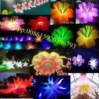inflatable flower , giant inflatable flower decoration , inflatable flower chain ,inflatable flower chain for wedding Manufactures