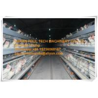 Silver Galvanized Steel Cage Battery Cage Layer Breeder Chicken Cage/Coop for Poultry&Livestock Farm Manufactures