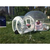 PVC Transparent Backyard Party Tent For Family Outdoor Camping Manufactures
