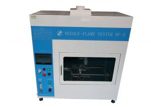 IEC 60695 0.5m³  Needle Flame Tester With 7 Inch Color Touch Screen Manufactures
