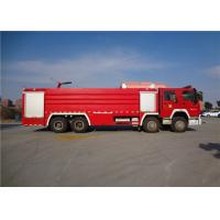 Darley Pump Commercial Fire Trucks 11775×2500×3700mm Dimension Drive 8x4 Manufactures