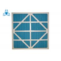 Quality Industrial Efficiency G3 / G4 Panel Pre  Air Filter For Clean - Up Systems for sale