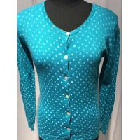 Spot Cardigan Sweaters For Women , Ladies Cardigan Sweaters Round Neck 14gg Manufactures