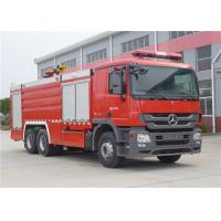 Pump Flow 90L/S Rear Mount Pump Fire Truck , Manual Operation Fire Service Truck Manufactures