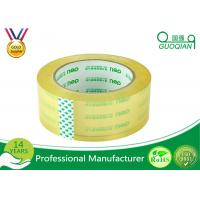 Strong Sticky Transparent Crystal Clear Tape BOPP Reinforced Packaging Tape Manufactures