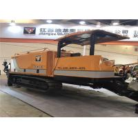 China 45t Trenchless Horizontal Directional Boring Machine With Pipe Pulling DL450C on sale