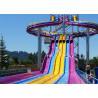 Fiberglass Swimming Pool Water Slides , Playground Water Slides For Kids Manufactures