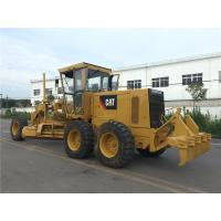 140H Used Motor Grader Secondhand Road Machinery Caterpillar With Ripper