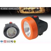 Buy cheap 6000 Lux Cordless Led Mining Cap Lamp , IP68 0.69W Hard Hat Headlamp from wholesalers
