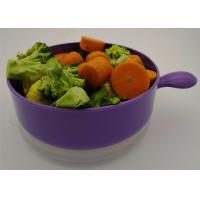 Polypropylene Microwave Safe Plastic Bowls, Microwave Safe Food Container With Lid Manufactures