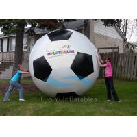 Hand Painting 0.18mm PVC Sports Balloons / Helium Soccer Ball For Sport Competitions Manufactures