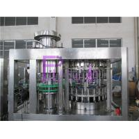 High Speed Beer Filling Machine Glass Bottle Filler Equipment , Balanced Pressure Manufactures