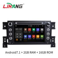 7 Inch Android 7.1 SUZUKI Car DVD Player Car Radio Player With Rear Camera DVR OBD Manufactures
