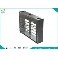 Half  Height Automatic Turnstiles Security Pedestrian Gate Access Control Turnstar Manufactures