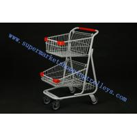 China Unfoldable Trendy Shopping Carts  On Wheels With Canada 70L on sale