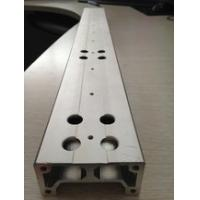 Aluminium Extrusion Custom Machined Parts With Drilling And Tapping Manufactures
